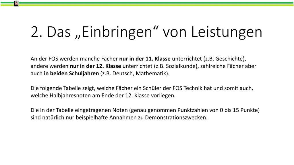Die neue FOBOSO hier: FOS Technik - ppt herunterladen