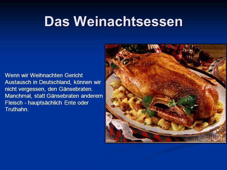 Das Weihnachten in Deutschland - ppt herunterladen