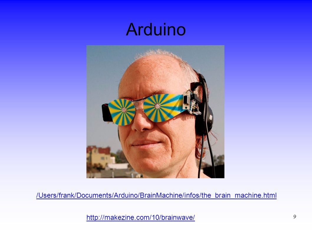 Arduino /Users/frank/Documents/Arduino/BrainMachine/infos/the_brain_machine.html.