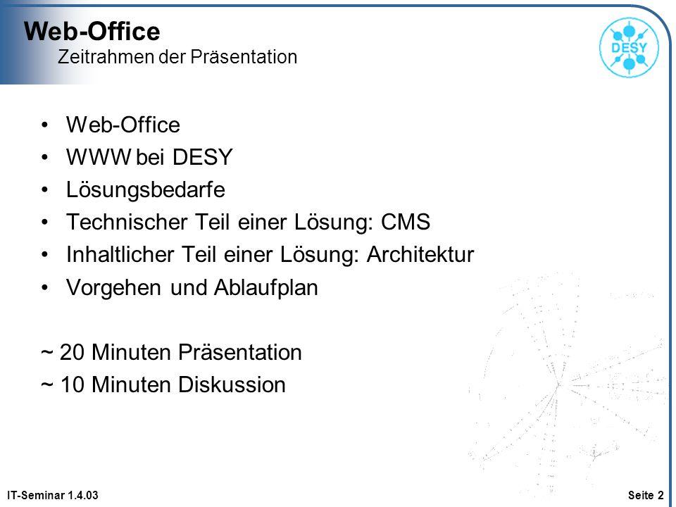 Das Web-Office und seine Aufgaben - ppt herunterladen