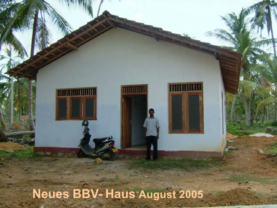 Neues BBV- Haus August 2005