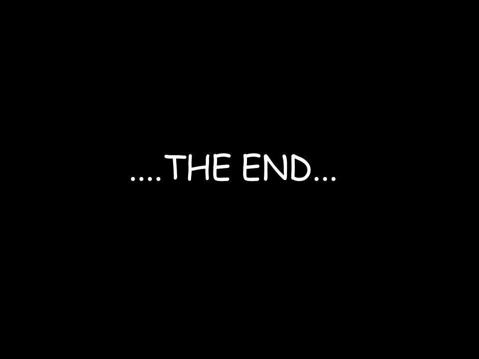 ....THE END...