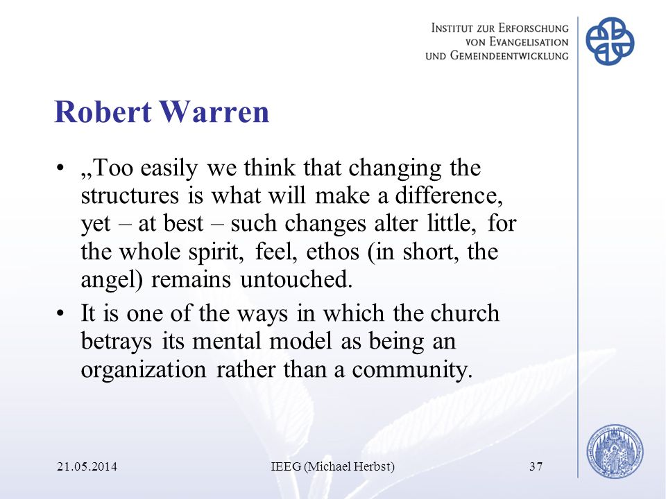 Robert Warren