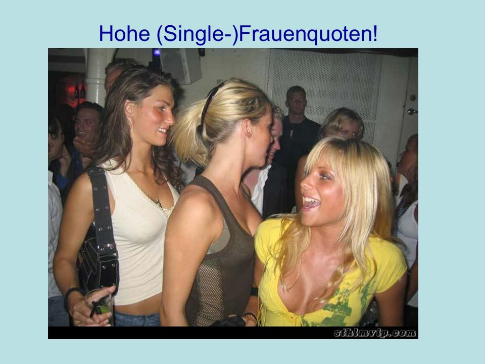 Hohe (Single-)Frauenquoten!