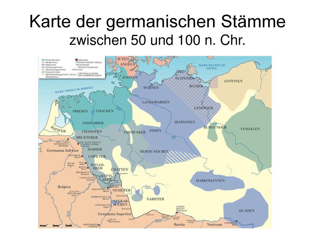 Germanische Stämme Karte.Nj Os P001 Deutsche Geschichte Ppt Herunterladen