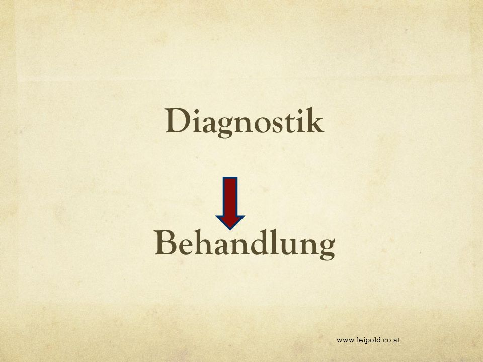 Diagnostik Behandlung