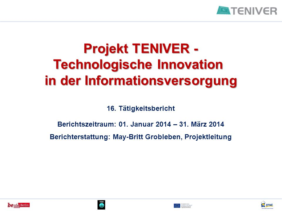 Technologische Innovation in der Informationsversorgung