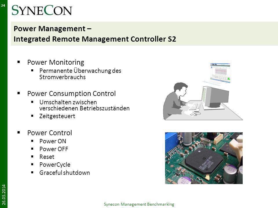 Power Management – Integrated Remote Management Controller S2