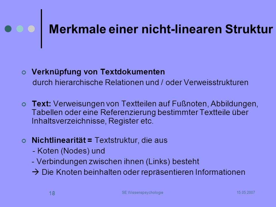 Strukturierungformen von Lerntexten - ppt herunterladen
