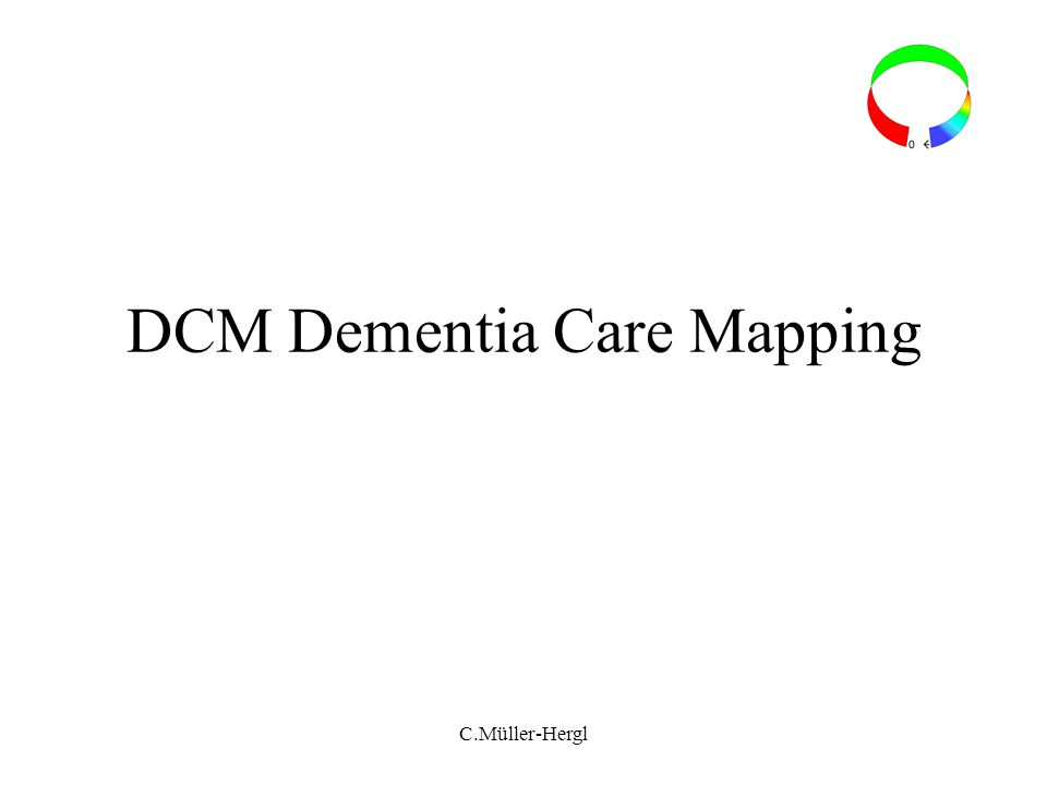 DCM Dementia Care Mapping