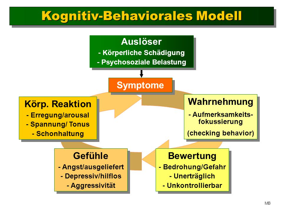 Kognitiv-Behaviorales Modell