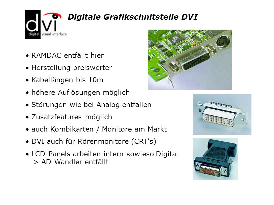 Digitale Grafikschnitstelle DVI