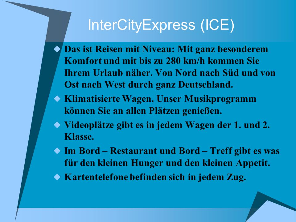 InterCityExpress (ICE)