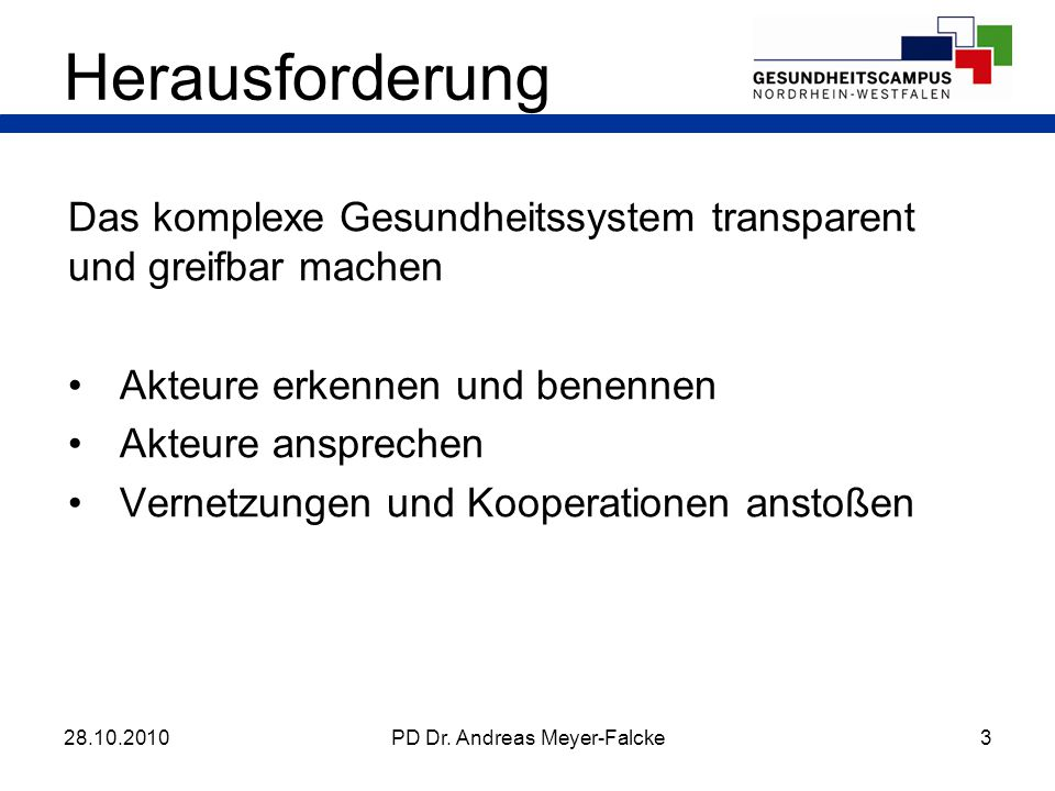 PD Dr. Andreas Meyer-Falcke