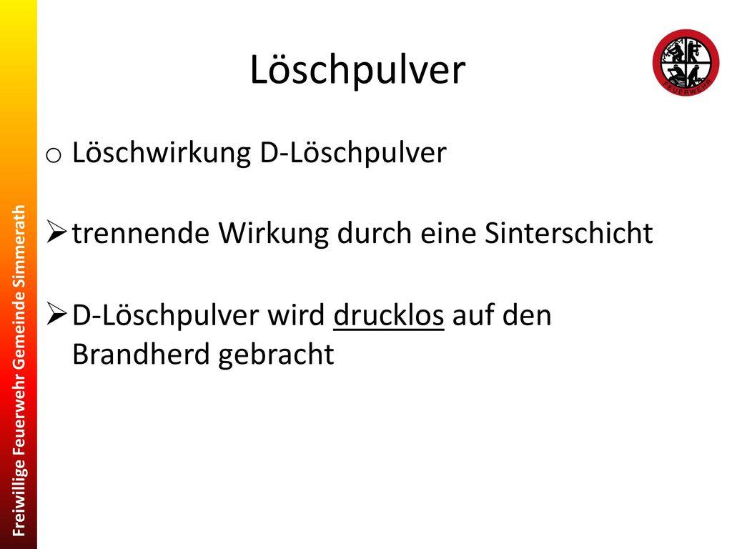 brand- und löschlehre. - ppt herunterladen
