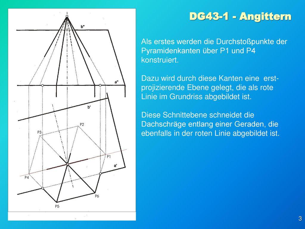 DG Angittern Aufgabenstellung: Arbeitsblatt 43, Beispiel 1 - ppt ...