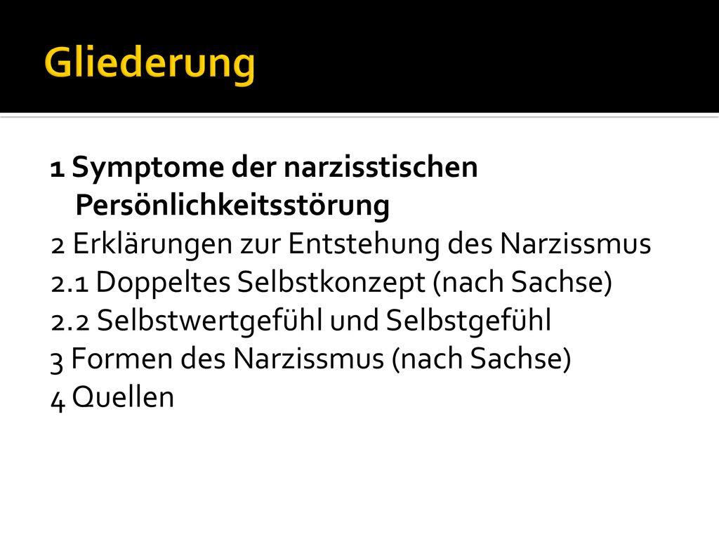 Symptome narzissmus 15 Zeichen