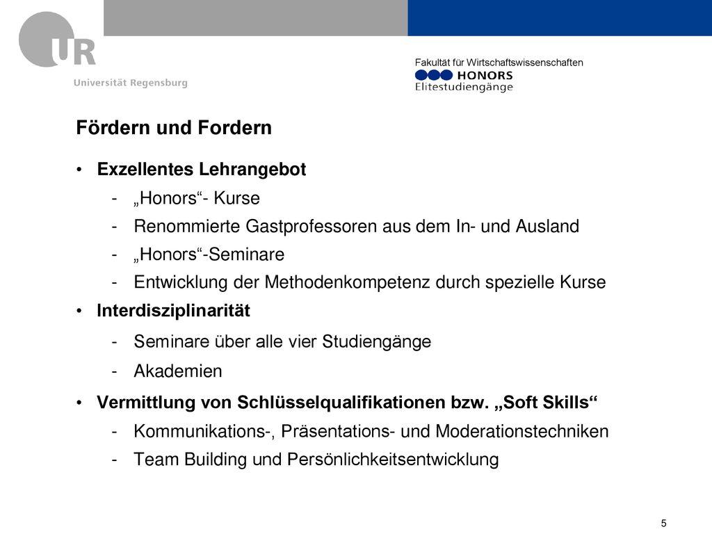 First Steps Universitat Regensburg 9