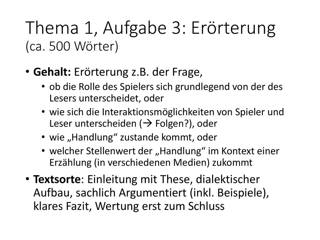 Deutsch Matur Schriftlich Ppt Herunterladen