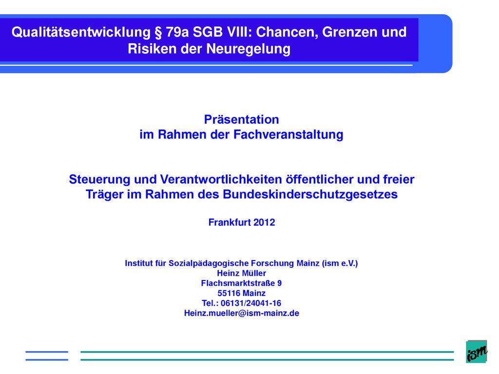 Präsentation im Rahmen der Fachveranstaltung - ppt herunterladen