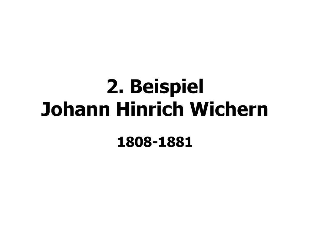 Johann Hinrich Wichern 4teachers De