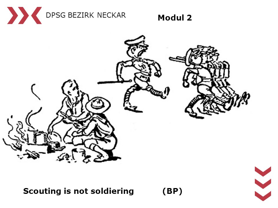 Scouting is not soldiering (BP)