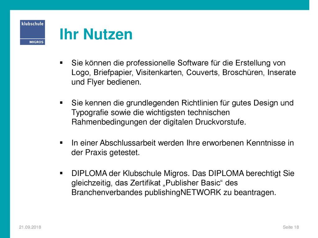 Desktop Publisher Mit Diploma Ppt Herunterladen