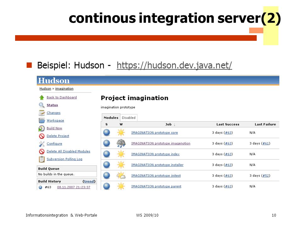 continous integration server(2)
