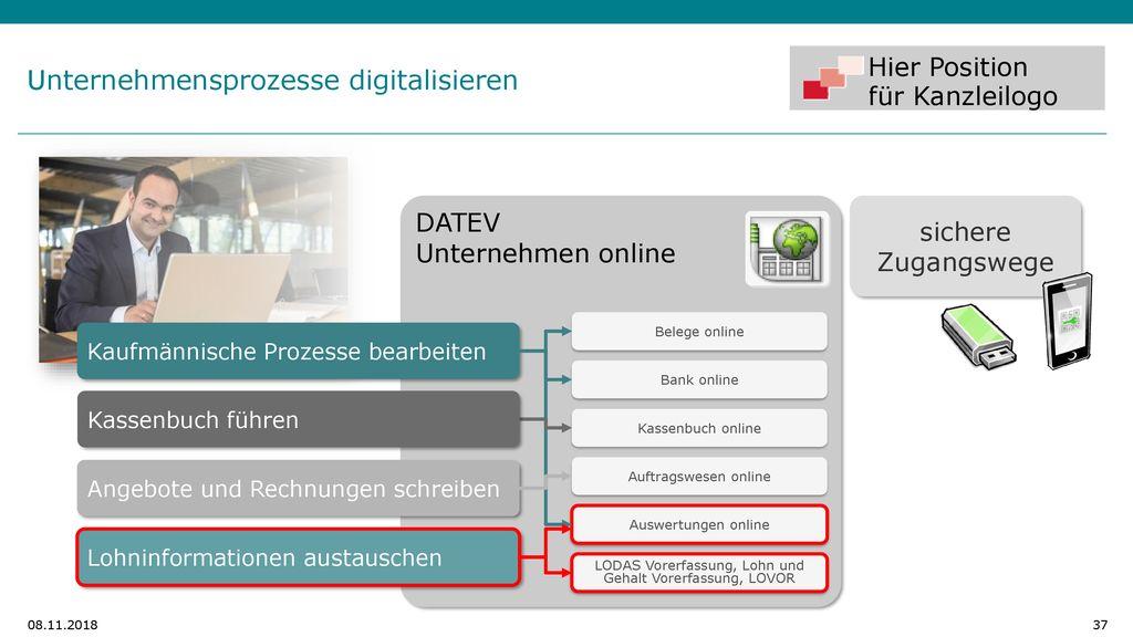 Datev Unternehmen Online Ppt Herunterladen