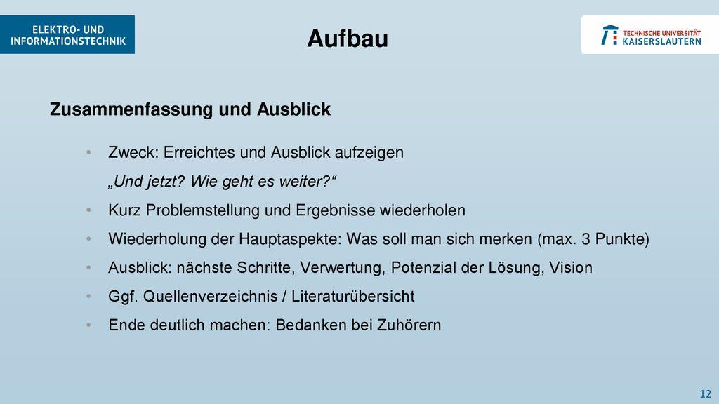 Vortragsgestaltung Max Mustermann Vorträge Im Labor