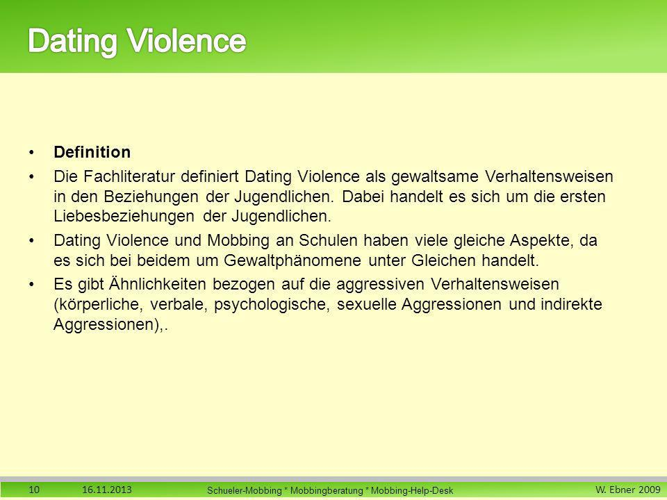 Dating Violence Definition
