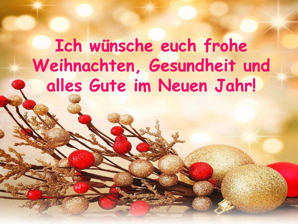 Alles Gute Zum Weihnachten.Weihnachten In Deutschland Ppt Herunterladen