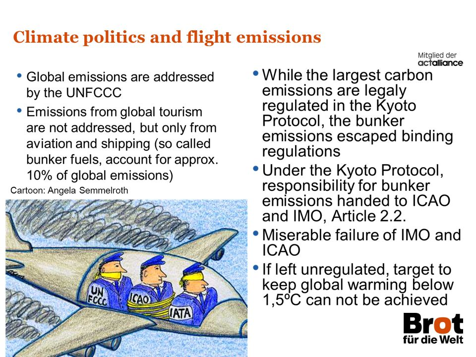 Climate politics and flight emissions