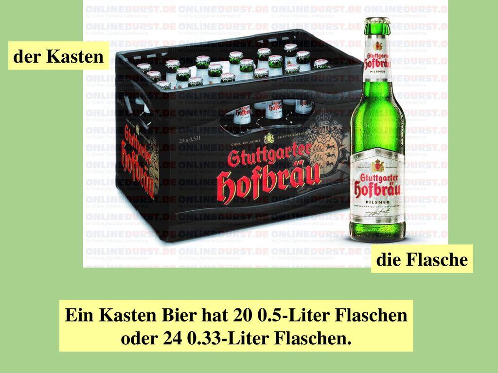 Wieviel Flaschen Sind In Einer Kiste Bier Was Wiegt Ein