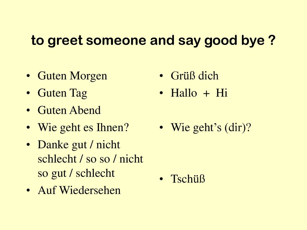 German 1013 Kapitel 1 Review Ppt Herunterladen