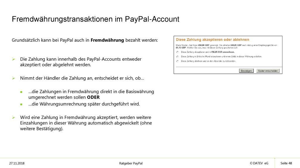 Geld online senden