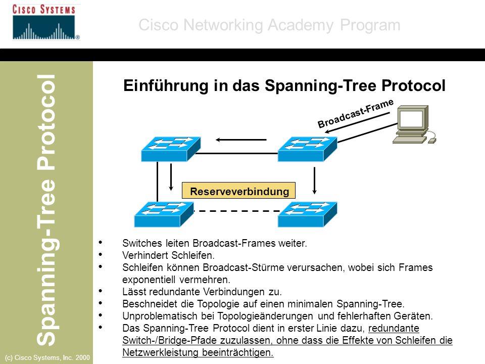 Spanning-Tree Protocol - ppt herunterladen