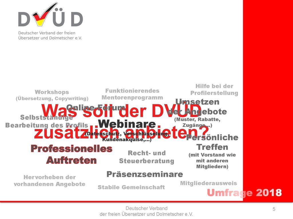 Deutscher Verband Der Freien übersetzer Und Dolmetscher Ev Ppt