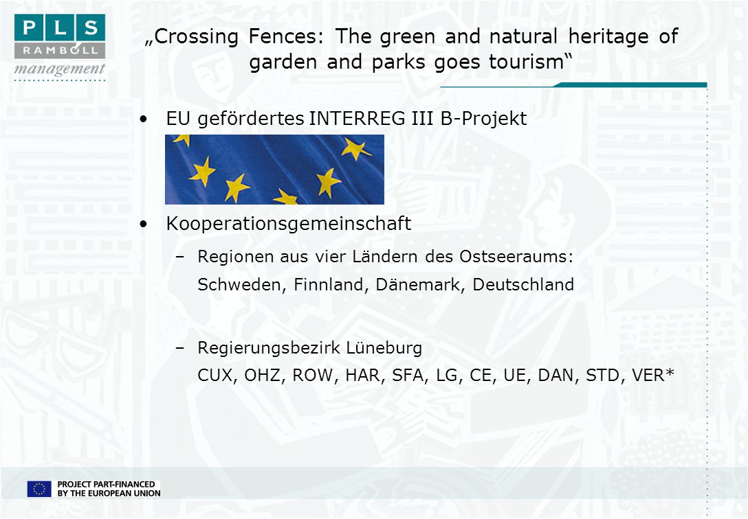 """Crossing Fences: The green and natural heritage of garden and parks goes tourism"