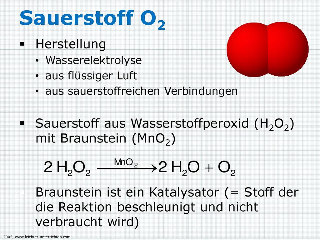 Sauerstoff Zweiwertiges Atom Vorkommen Vorkommen In