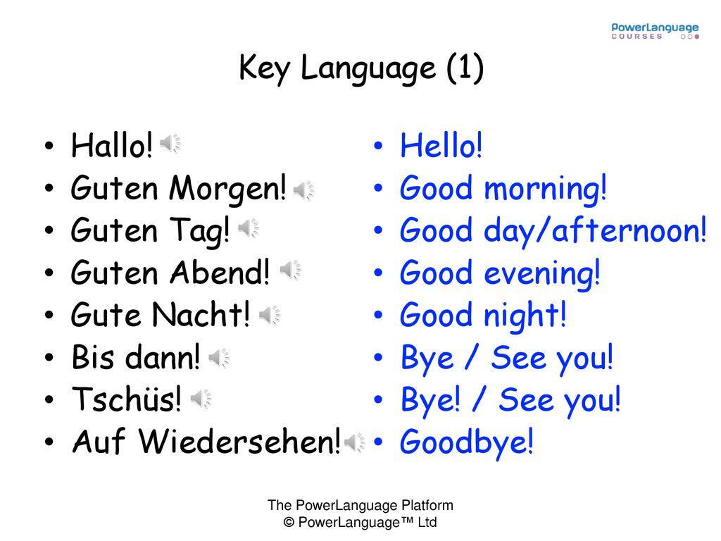 Lesson 1 Key Language Ppt Herunterladen