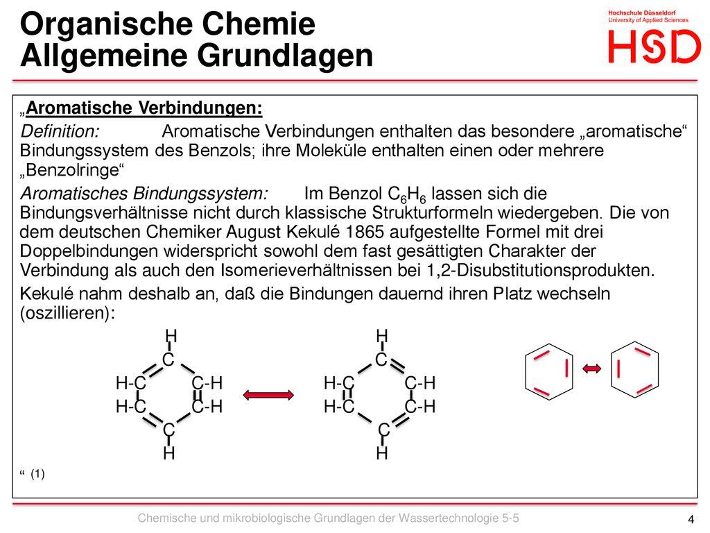 Chemische Und Mikrobiologische Grundlagen Der