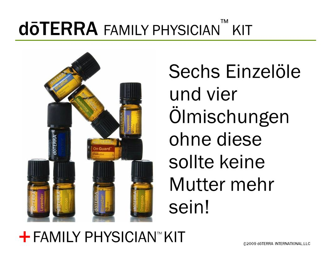 + dōTERRA FAMILY PHYSICIAN™ KIT