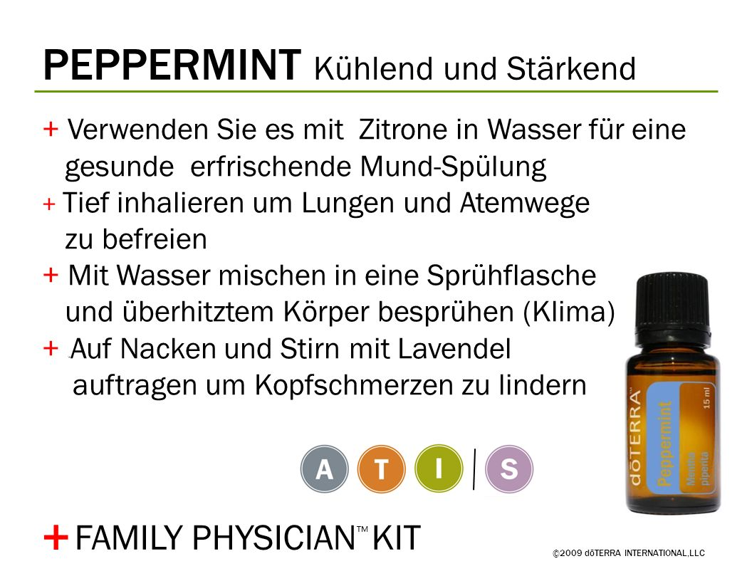 + PEPPERMINT Kühlend und Stärkend FAMILY PHYSICIAN™ KIT
