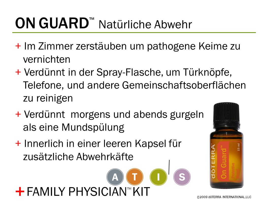 + ON GUARD™ Natürliche Abwehr FAMILY PHYSICIAN™ KIT