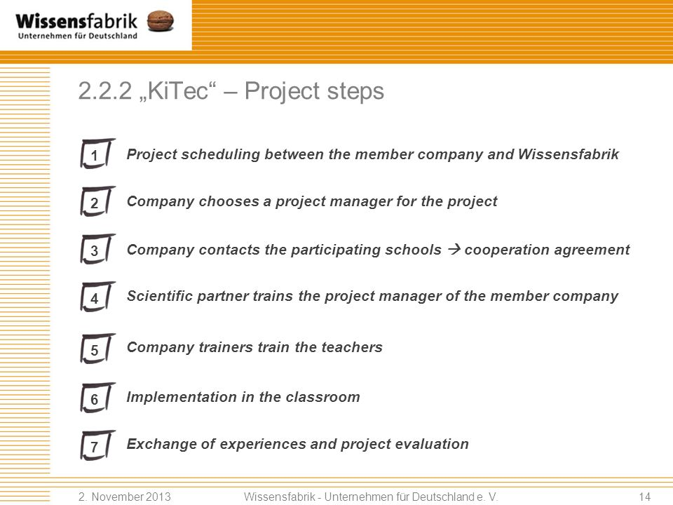 "2.2.2 ""KiTec – Project steps"