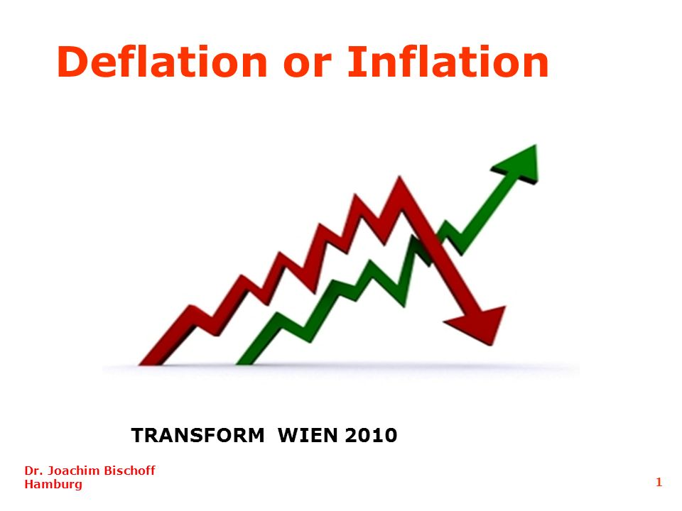Deflation or Inflation