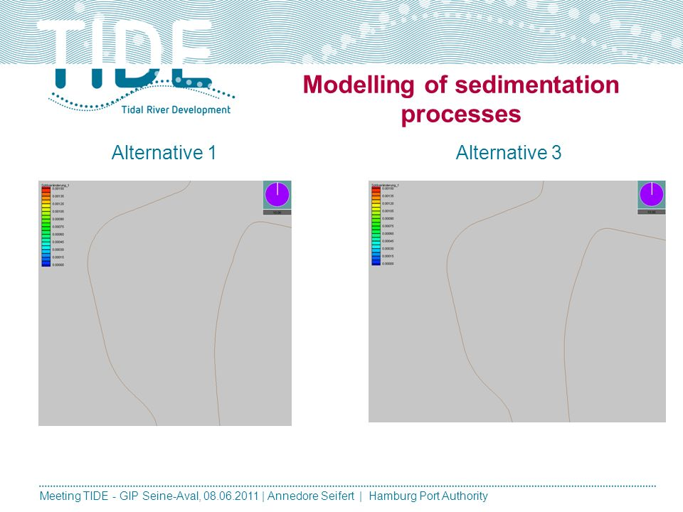 Modelling of sedimentation processes