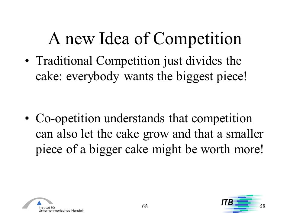 A new Idea of Competition