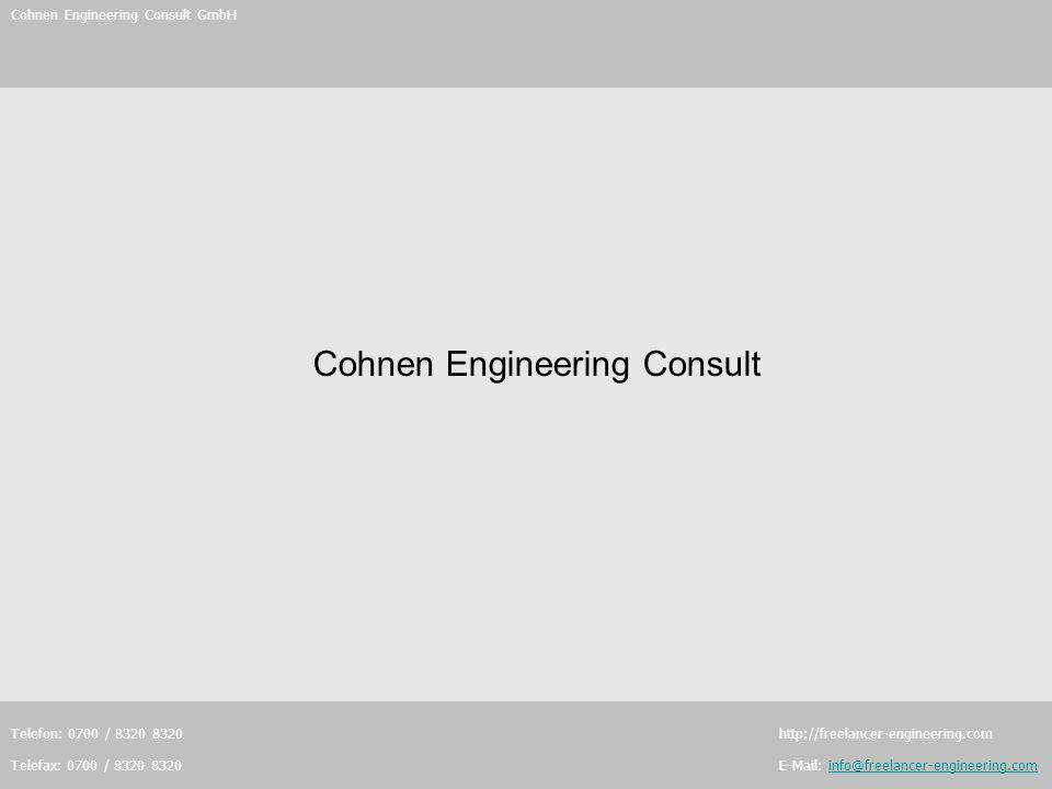 Cohnen Engineering Consult